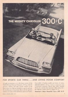 The Mighty 1957 Chrysler 300 C
