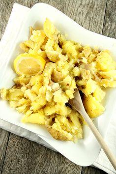 Lemon Smashed Potatoes Recipe - RecipeGirl.com