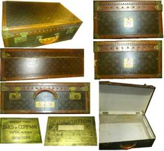 ルイヴィトンlouisvuittonアンティークトランクケース インテリア 雑貨 家具 Antique trunk ¥300000yen 〆04月30日