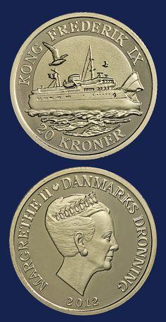 Kong Frederik IX 1954, Dinamarca