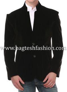Stylish Designer Black Velvet Sport Coat SMOKING Jacket Two Button Men's wedding, evening, prom, coc Indian Jackets, Black Velvet Blazer, Nehru Jackets, Bold Fashion, Fashion Tips, Fashion Trends, Mens Sport Coat, Sports Jacket, Blazers For Men