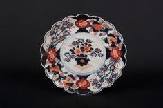 Japan 20. Jh. Teller A Japanese Arita Porcelain Dish Meiji - Japonais Giapponese