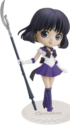 Base Stand included Package Weight: 2.0 pounds Package Dimensions: 8.0 L x 10.0 H x 8.0 W (inches) Multiple Colors #sailormoon #sailorsaturn #anime #animegirl #blackhair #heart #hearts #toy #toys #adorable #dress #outfit #gift #giftideas #giftidea #nice #earring #earrings