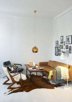 Beautiful, functional lounge configuration. Elisabet Aarhus photography.
