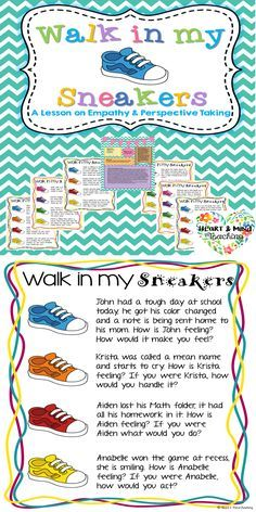 Students will listen to given scenarios and answer the empathy/perspective taking questions given, attempting to put themselves in someone else's shoes. Great for students who are struggling to make and keep friends. This activity takes about 30 minutes to complete with a small or large group. The goal is for students to practice having empathy and perspective taking skills. Includes: Activity description including instructions/walkthrough of activity, objectives, materials, and ASCA…