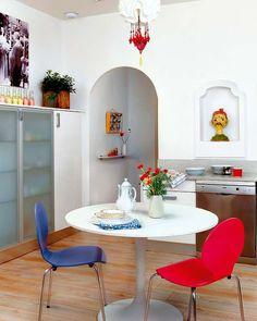 Blog wnętrzarski - design, nowoczesne projekty wnętrz: Wielkomiejskie życie - mieszkanie Madryt, Hiszpania