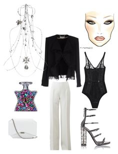 """""""Untitled #667"""" by raluca-denisat on Polyvore featuring Chloé, Michael Kors, La Perla, Alexander McQueen, Givenchy, Giuseppe Zanotti, Bond No. 9, women's clothing, women and female"""