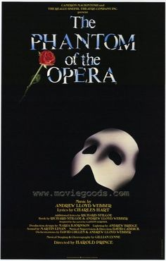 First Broadway show! The phantom of the opera; one of the reasons to visit London. Broadway Plays, Broadway Theatre, Musical Theatre, Broadway Shows, Broadway Posters, Opera Mask, Music Of The Night, Theatre Nerds, Phantom Of The Opera