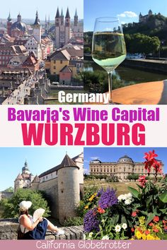 Würzburg: The Franconian Wine Capital of Bavaria | Franconian Wine Region | Wines from Fraconia | Wine Festivals in Germany | Wine Festivals in Würzburg | Sights to See in Würzburg | Things to do in Würzburg | Best Cities to Visit in Bavaria | Germany's Romantic Road | Germany's Fairy Tale Wine Country | Bavarian Wine Country | Germany Wine Regions | Day Trip from Frankfurt | Day Trip from Munich | Würzburg Tourism - California Globetrotter Road Trip Europe, Travel Tips For Europe, Travel Abroad, Europe Destinations, Amazing Destinations, Romantic Road, European Travel, Bavaria, Germany Travel