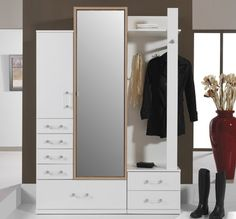 Modern furniture for living room Single White Wardrobe, Narrow Wardrobe, Hall Wardrobe, Bedroom Wardrobe, Armoire Wardrobe, Black Wardrobe, Fitted Bedroom Furniture, Fitted Bedrooms, Hall Furniture
