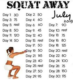 Doing this with WEIGHT. Body weight squats are pretty much pointless.
