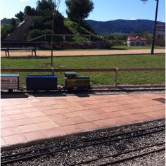 Parque temático tren alcoi-Gandía (almoines)