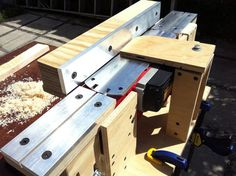 power planer to bench jointer conversion