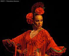 Alta moda flamenca  /  Flamenco's haute couture by Francesca Monaco, via Flickr