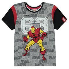 Boys Marvel Iron Man T Shirt