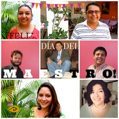 Thank you Saraí, Diana, Letty, Enrique, Rojelio, Manuel and Román for sharing your passion and dedicate your time to the diffusion of this beautiful language that is Spanish and the culture of our fantastic country, Mexico Emoticono heart Emoticono smile And happy teachers day to all the teachers in the world Emoticono grin #spanishteacher #diadelmaestro #spanishschools #celebration #spanishlanguage #spanish