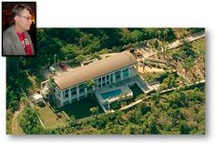 Stephen King's Waterfront Mansion off the Gulf in Osprey, Florida