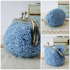 PATTERN Crochet Coin Purse Model nº 18 van PitusasyPetetes op Etsy