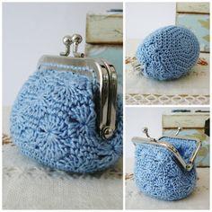 PATRÓN de Monedero en Crochet // Ganchillo por PitusasyPetetes