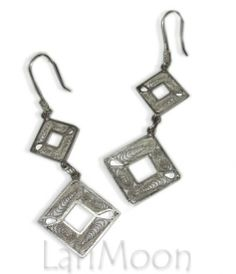 Paraguayan Filigree earrings. www.larimoon.com