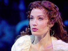 Sierra Boggess as Christine Daae from The Phantom of the Opera