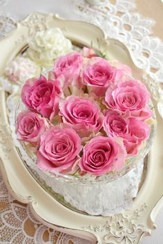Jennelise: Pretty Pink Roses