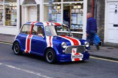 Love this cute Union Jack Mini #London (also a learner).