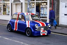 Love this cute Union Jack Mini #London