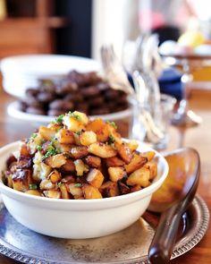 Oven Brown Potatoes