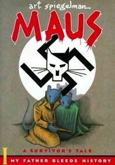 Maus is a graphic novel by American cartoonist Art Spiegelman, serialized from 1980 to 1991. It depicts Spiegelman interviewing his father about his experiences as a Polish Jew and Holocaust survivor. The work employs postmodern techniques and represents Jews as mice and other Germans and Poles as cats and pigs. Critics have classified Maus as memoir, biography, history, fiction, autobiography, or a mix of genres. In 1992 it became the first graphic novel to win a Pulitzer Prize.