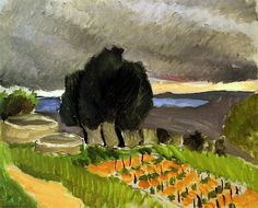 Landscape of the Midi - before the Storm. Henri Matisse - circa 1921
