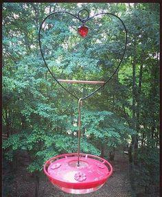 Tweet Heart Hummingbird Swing available at Bird Watcher Supply Company