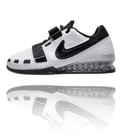 Nike Romaleos 2 Weightlifting Shoes - White / Black