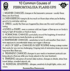 10 Common Causes of Fibromyalgia Flare-ups