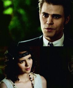 Stefan and Elena, at the dance...