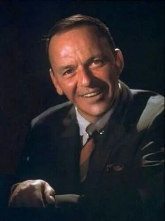 "Sinatra, The voice! Great actor, Won an Oscar for supporting role in ""From Here to Eternity."""