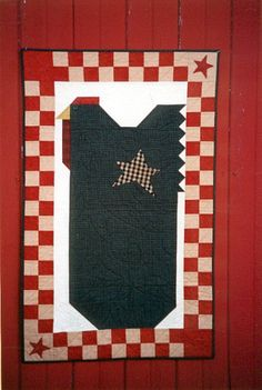 Country Threads :: Chicken Quilt Patterns :: Home To Roost Quilt Pattern