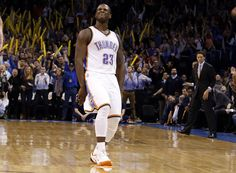It was Durant's drive-and-kick to newcomer Dion Waiters for a dagger with 23 seconds remaining that gave OKC enough breathing room to ultimately escape with a home win over Utah on Friday night. Chesapeake Energy Arena, Utah Jazz, Best Fan, Oklahoma City Thunder, Nba Basketball, Peeps, Friday, Game