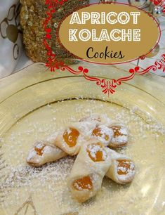 12 Days of Christmas Cookies: Apricot Kolache Recipe I this mama loves Christmas Chocolate, Christmas Sweets, Christmas Baking, Christmas Cookies, Christmas Time, Christmas Ideas, Polish Christmas, Cookie Desserts, Cookie Recipes