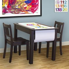 The Patrick Activity & Play table is designed for the 3 to 7 year olds, their playmates and young at heart parents. From coloring, arts & crafts projects to doing school work, timeless enjoyment will be shared by all. $206.90