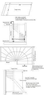 Afbeeldingsresultaat voor standaard afmeting trap