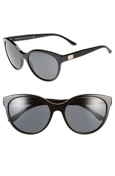 ac499cbe1848 Versace 57mm Retro Sunglasses available at  Nordstrom Latest Sunglasses