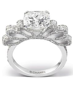 I want it!!!! -Chanel ring