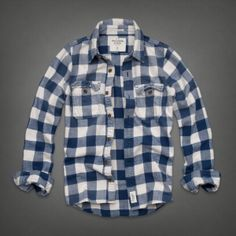 Mens Sentinel Range Flannel Shirt | Mens Shirts | Abercrombie.com Plaid Fashion, Mens Fashion, Mens Flannel Shirt, All American Clothing, Button Up Shirts, Men Casual, My Style, Tees, Mens Tops