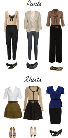 job intervews outfits | …here are some general tips I have for dressing for an interview. (I like these pictures I found online) ~GVT~