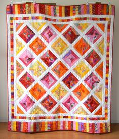 String-Quilt finished. | by Marjon Savelsberg