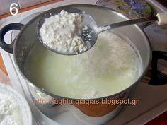 Τα φαγητά της γιαγιάς - Τυρί φτιαγμένο με λεμόνι How To Make Cheese, Food To Make, Oatmeal, Pudding, Cooking, Breakfast, Desserts, Recipes, Tips