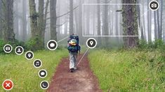 Path is a social network which boasts an excellent UI.