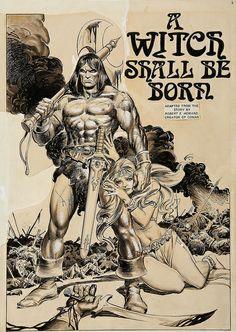 john buscema and tony dezuniga - savage sword of conan #5, 1975 by myriac, via Flickr