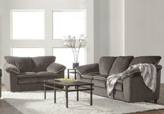 Bing Ash Sofa and Loveseat Set 9050, $899.00 Sofa And Loveseat Set, Couch, Buy Furniture Online, Recliner, Sofas, Love Seat, Upholstery, Ash, Table